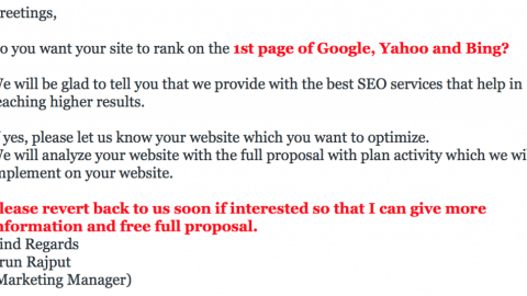 You don't really hate SEO.