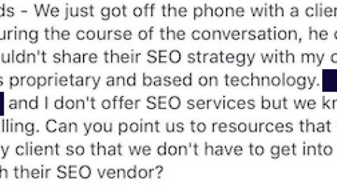 My Secret SEO Strategy Guarantees Results…