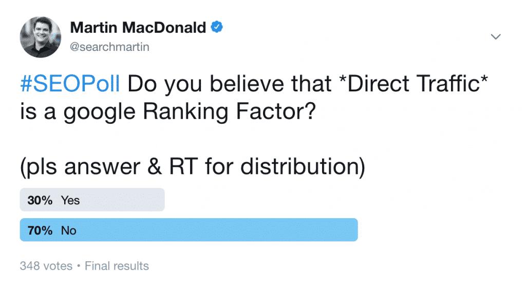 Is Direct Traffic a Ranking Factor?   Web Marketing School